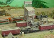 This scratch built coal pocket was built from plans in the Model Railroader Magazine just before three different plastic kits hit the market. 